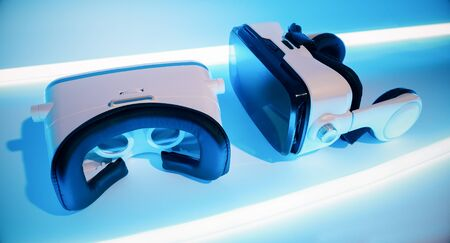 Wearable virtual tech. New VR goggles