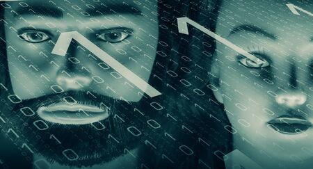 cybercrime: Cybercrime computer password Stock Photo
