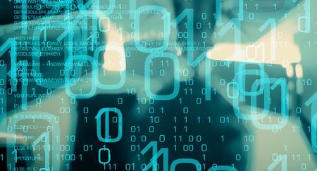 Computer cyber attack, cybersecurity network Archivio Fotografico
