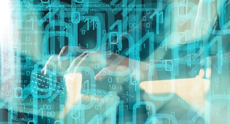 コンピューターのセキュリティは、サイバー攻撃をハッキング
