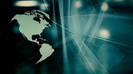 Cyber world digital news backdrop idea