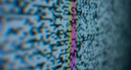 Tv noise dots abstract background