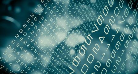 Computer algorithm productivity efficiency, cyber security concepts Stock fotó