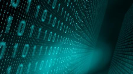 Algorithme de recherche nouveau code, concepts de toile de fond binaires