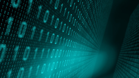 Algoritmo di ricerca nuovo codice, concetti di sfondo binario