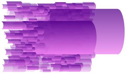 Random transparent gradient vector purple copy space Ilustrace