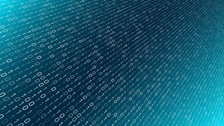 Cybersecurity machine learning, secure big data information Stock fotó - 125453137