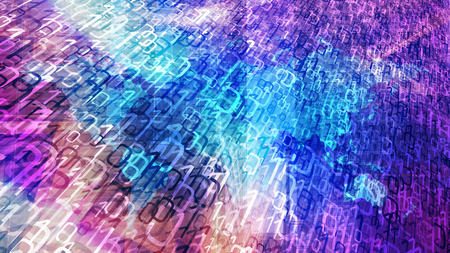 Cybersecurity in global network, big data in computer cloud