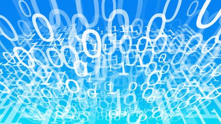 Binary numbers design, algorithm digital transformation