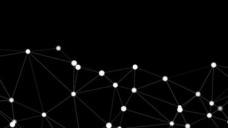 Transformación de tecnología digital, elementos de formas vectoriales