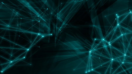 Creative tech graphic, many triangle shapes, futuristic abstract backgrounds Stockfoto - 123712021