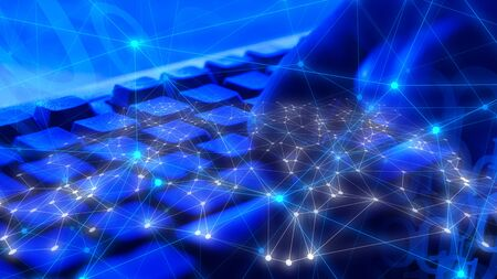 Computer science coding, cyber ai brain experiment