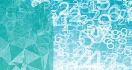New tech background, bots software algorithm Illusztráció