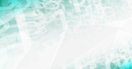 Network communication numbers, information digital code 写真素材