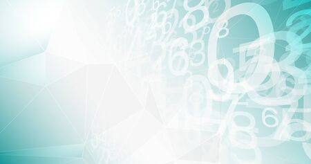 New technology innovation creative background