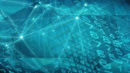 Informática en negocios y finanzas, conexión de números digitales