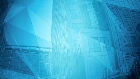 Title architecture futuristic, bank metropolis glass