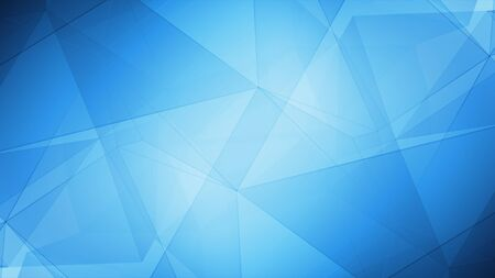 Layout gradient design, triangle futuristic line connected opener