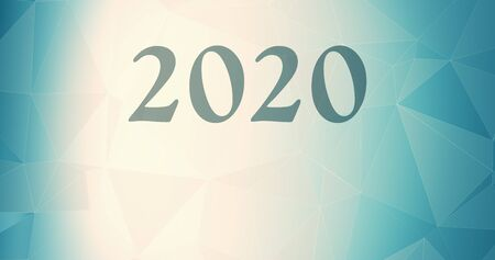 Connected 2020 shapes election, 2020 year wallpaper