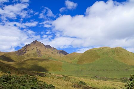 Fuya Fuya  Volcano and the highlands of Ecuador photo
