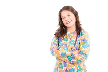 Female doctor pediatrician Stock Photo - 16410775