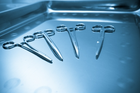 Surgical instruments  Medical concept Stock Photo - 16443797