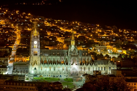 Cathedral of Quito, Ecuador  Stock Photo