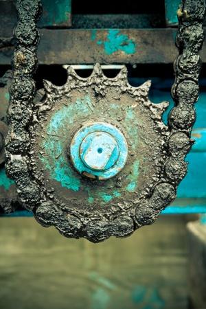 dynamo: huge greasy roller chain