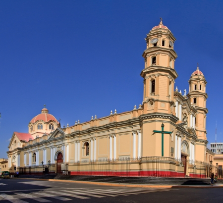 Main Cathedral in the city of Piura, in Peru photo