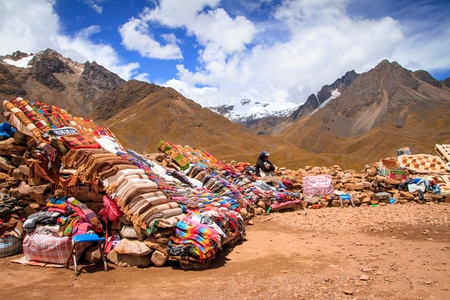Views from the Andes Peru South America photo