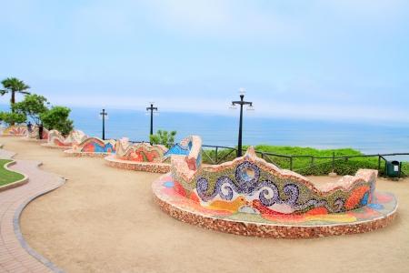 rosemallow: El Parque del Amor, in Miraflores, Lima, Peru