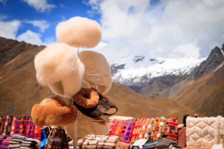 contrast: Views from the Andes Peru South America Stock Photo