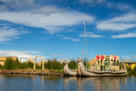 Lake Titicaca Puno Peru South America photo