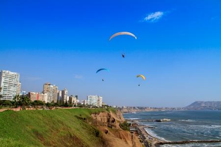 miraflores: LIMA, PERU  paragliding in Miraflores