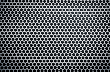 Metal background with holes Stock Photo - 18650704
