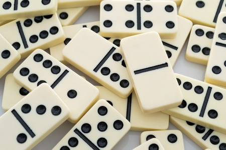 regimented: Domino background