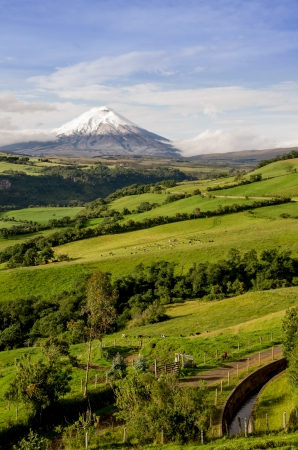 Cotopaxi volcano, Ecuador  photo