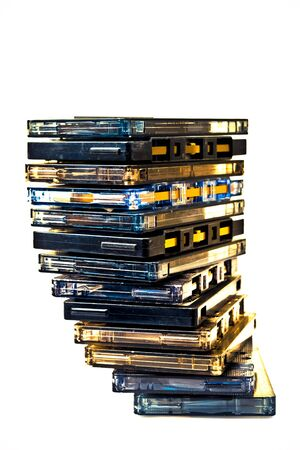Cassette pile COLOR PROCESSED POP photo
