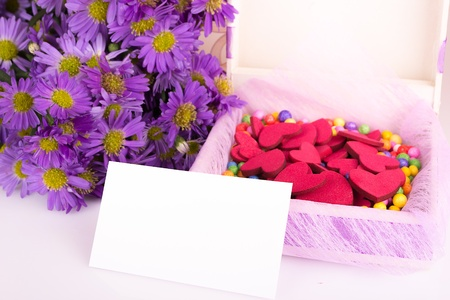 Mother s Day Concept with colorful flowers  photo