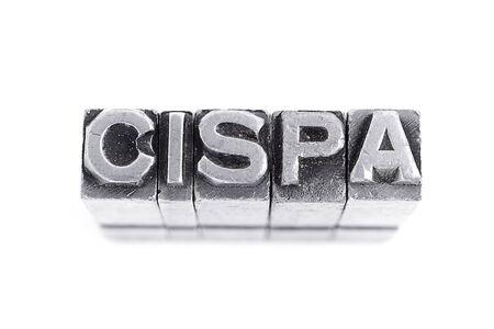 Cispa Sign  Stock Photo - 19375712