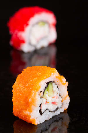 Japanese cuisine restaurant sushi  photo