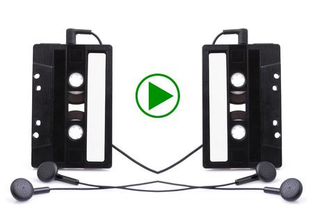 Audio cassete. music, sign photo