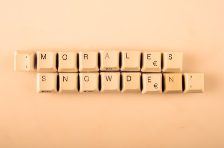 undetermined: Social Media  words written with computer buttons