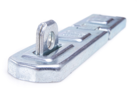 silver door latch for lock photo