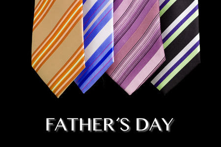 family fun day: happy father day tie greeting card