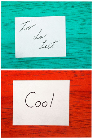 post it notes, todo list, cool photo