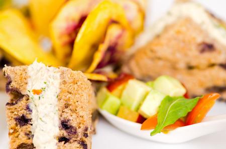 Sandwiches with Chicken gourmet photo