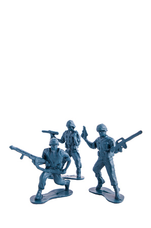 toy soldiers white background photo
