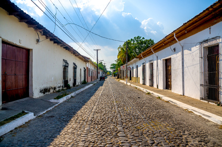 el: Suchitoto town in El Salvador