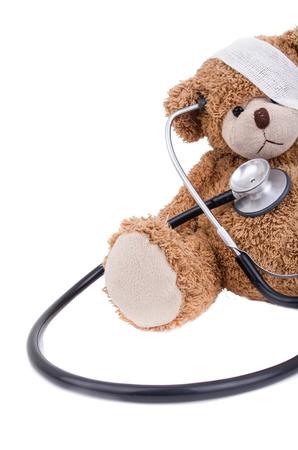 Teddybeer met bandage  Teddy Bear